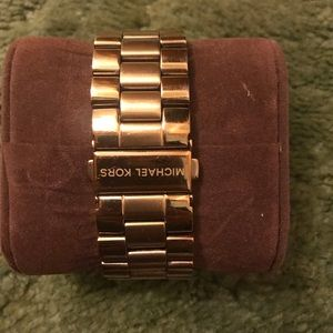 Michel Kors oversized gold watch